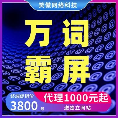 万词霸屏全网营销系统1000元-3800元